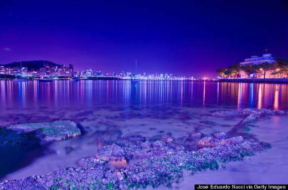 乌卡海滩(巴西)-全球13个最美的星光海滩掠影图片
