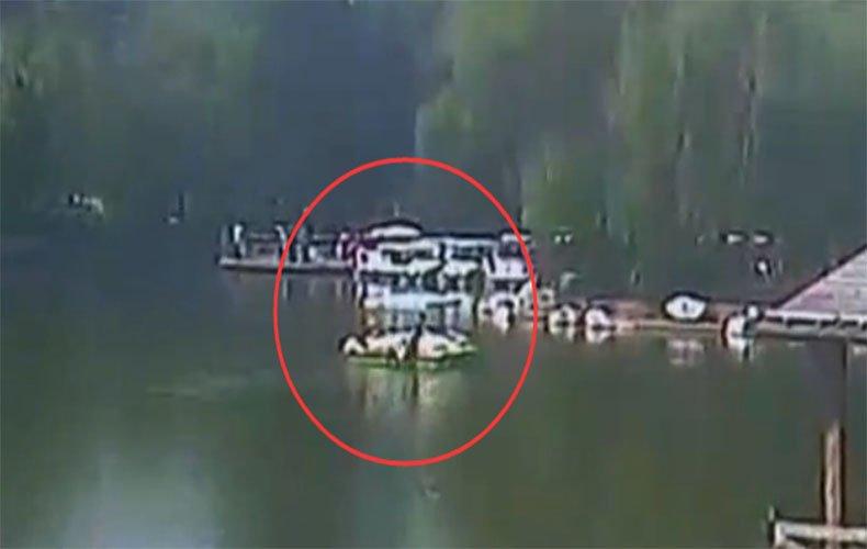 幼童游船戏水落湖 6市民争先跳水救人
