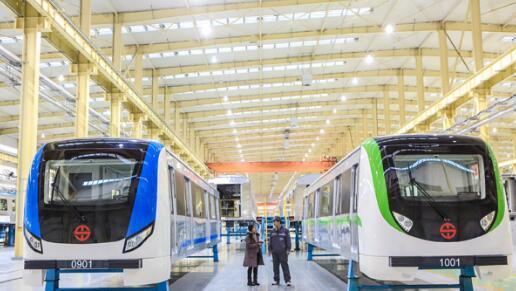 十二大亮点提升沈阳地铁9、10号线新车