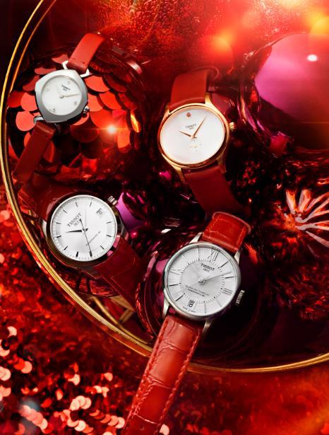 这一刻 如约而至 天梭表与你一起倒数惊喜 开启圣诞狂欢