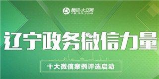 辽宁政务微信力量评选