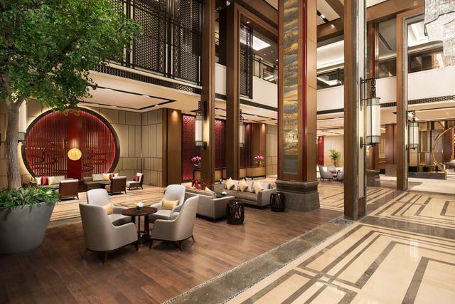 济南香格里拉大酒店于今日迎来试营业
