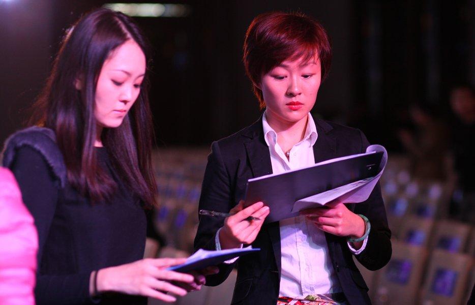 2013大辽网年度影响力盛典美女工作人员
