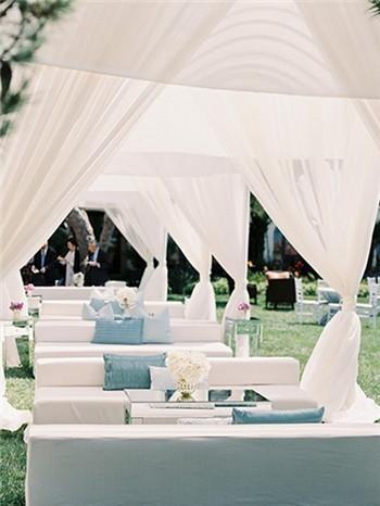 婚礼休息区灵感 浪漫值得你借鉴