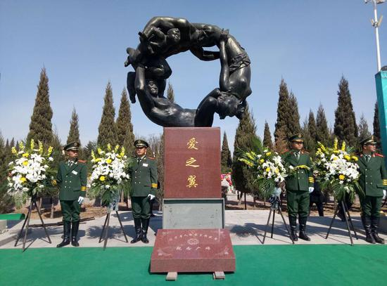 辽宁省人体器官捐献者在沈公益落葬