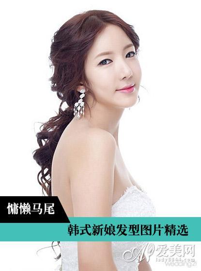 韩式新娘发型   style6:花苞盘发   推荐指数:★★★★   发型点评