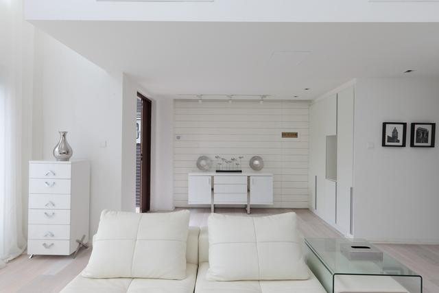 12平米单间现代小户型客厅效果图图库