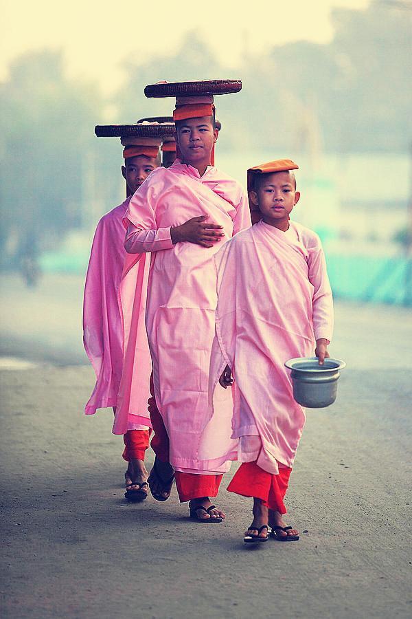 缅甸男人为啥非要出家当和尚