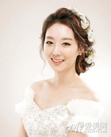 唯美韩式新娘发型 演绎浪漫公主梦图片