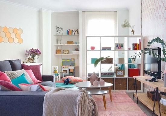 温馨宜家风公寓 缤纷色彩打造童趣天地