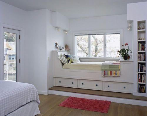 婚房飘窗装修效果图点评:优雅飘窗设计