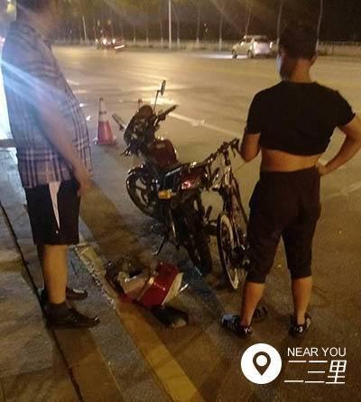 抚顺沿滨路车祸1死2伤一自行车受牵连