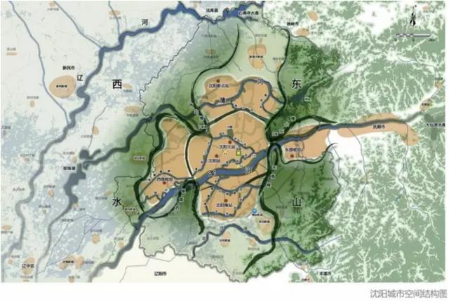 3,建设陆海联运系统,形成沈阳经济区发展轴 4,加强流域协同治理,形成