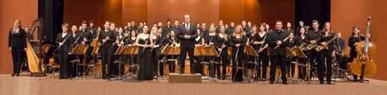 德国巴登符腾堡州立交响管乐团音乐会奏响古典音乐