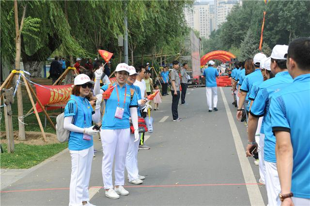 """""""荟华楼杯""""第四届全民健身徒步行在五里河公园隆重举行"""