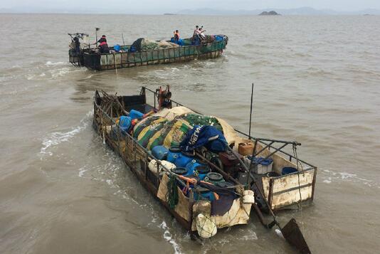 大连目前查扣涉嫌违规渔船达500多艘
