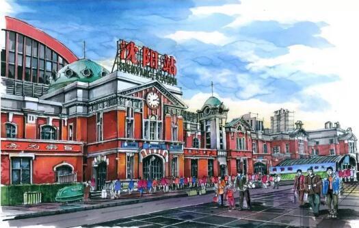 沈阳小伙李虎,9年时间 耗资50万,用了上万只马克笔,专注于自己的手绘