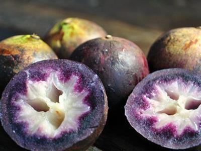 这些水果难道是来自外星球 你吃过几个