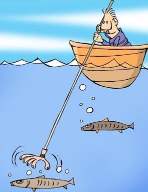 抚顺8名非法捕鱼者被抓现行 后果很严重
