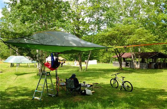 北海道大受欢迎的野营场特集