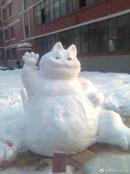 2018年全国各地堆雪人大赛,正式开始!