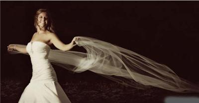 新娘婚纱照拍摄姿势