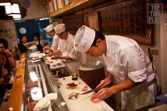 盘点全球比哈佛还难进的九大餐厅