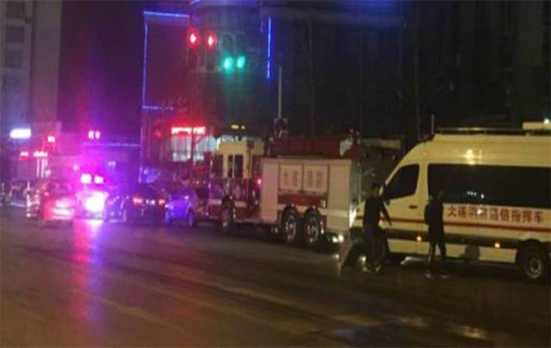 大连一高层住宅楼发生爆炸 一女子从25楼被炸飞坠亡