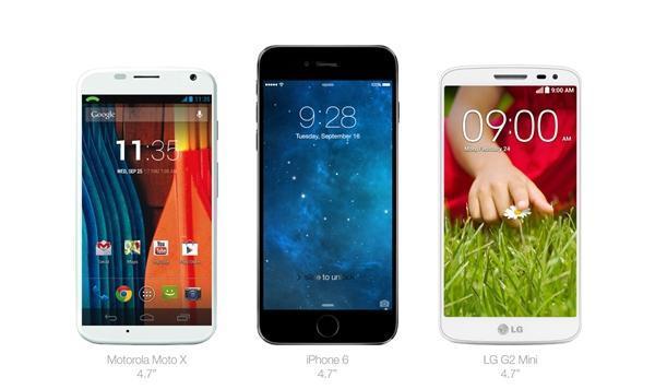 小屏幕最好掌握4.7英寸以内的高性能手机
