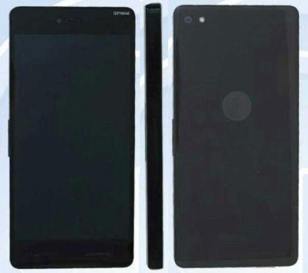 全黑色机身大屏设计 锤子手机首露真容