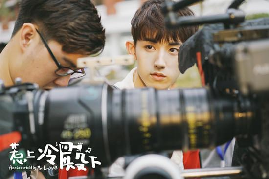 郭俊辰实力演绎校园偶像 为新角色全力以赴
