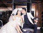 46岁钟丽缇幸福晒婚纱照:我要结婚啦!