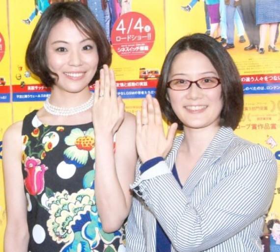日本第一对同性婚姻艺人宣布离婚 领证才2年