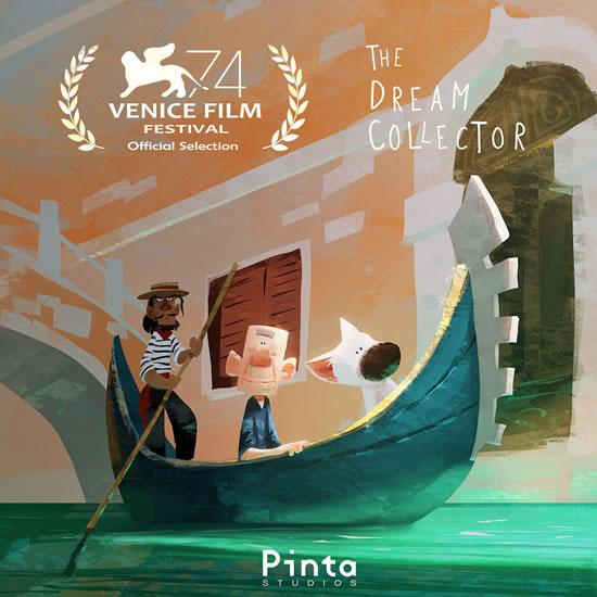 中国VR动画《拾梦老人》获威尼斯电影节提名