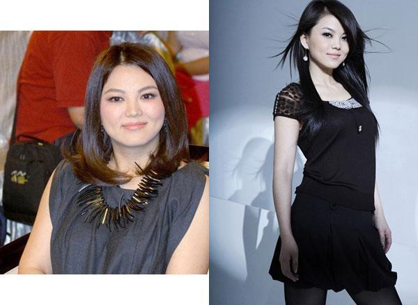 明星胖瘦对比图惊呆了 减肥要趁夏天啦_大辽网_腾讯网图片
