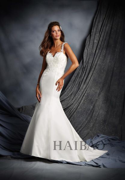 穿上鱼尾婚纱 做美人鱼一样的浪漫新娘图片