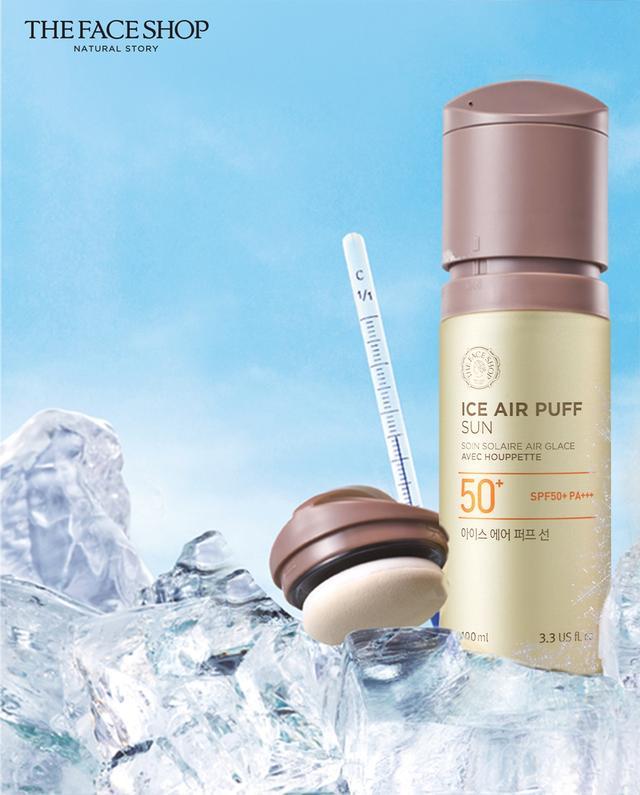 五效合一 体验瞬时冰肌快感 菲诗小铺全新推出夏日清凉美肌气垫防晒乳