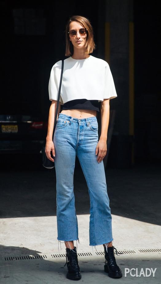 裤子有破洞不叫潮 2017是毛边牛仔裤的天下