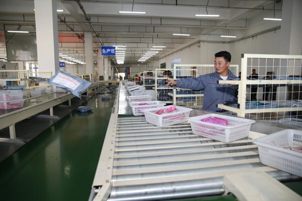兴城泳业国际仓储物流中心:做好泳装电子商务物流基础