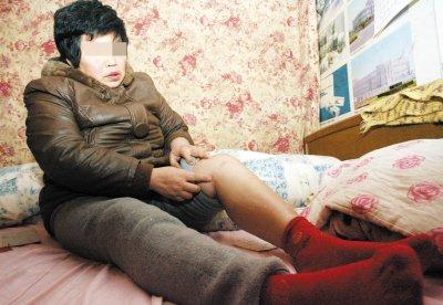 王大姐因为拉架左膝盖受伤