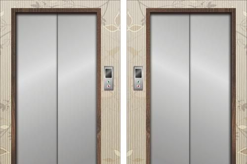 大门忌正对电梯闸门