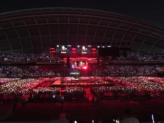 57岁又唱又跳!张学友沈阳演唱会唱足3小时 几乎全程都在大合唱