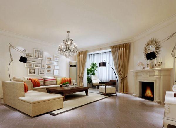 天通苑东一区-三居室-150.00平米-客厅装修效果图图片