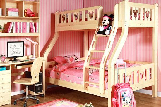 迪士尼儿童高低床