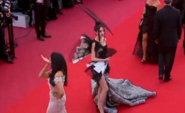 徐大宝用两身LOOK玩坏戛纳红毯 从直播走上世界级红毯的网红明星。。。
