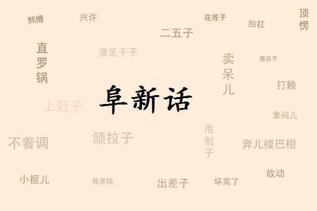 """阜新话将入国家语言库 高兴叫""""欢气"""" 灰尘叫""""暴土"""""""