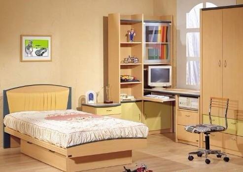 儿童卧室装修设计效果图:很简约