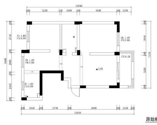 卫生许可厨房平面图