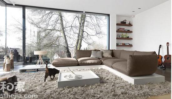 12个开放式客厅设计 展现宽敞大气