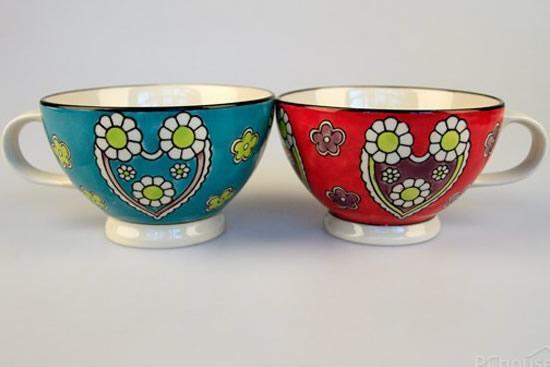 手绘陶瓷马克杯